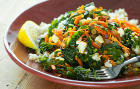 greens_carrots_feta_rice