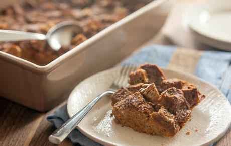 Pumpkin Chai Bread Pudding