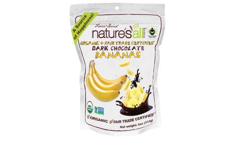 Nature's All Dark Chocolate Bananas