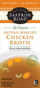 Saffron Road Artisan Roasted Chicken Broth