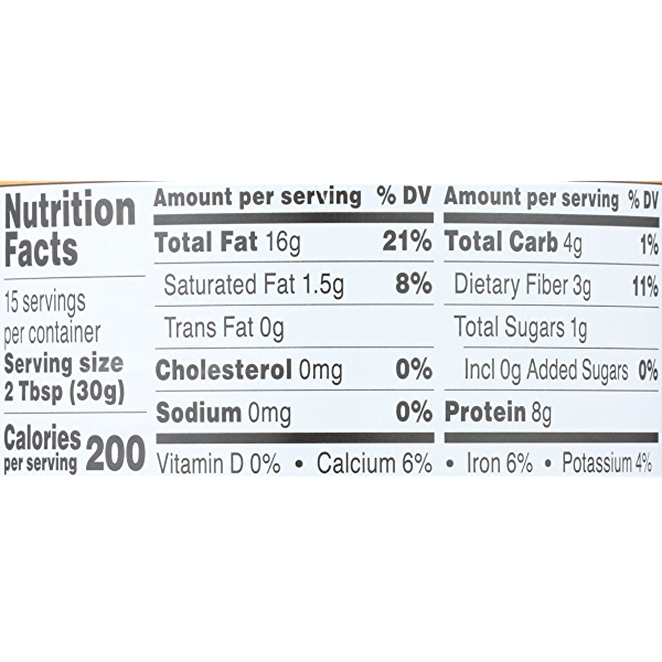 Crunchy Almond Butter Unsweetened & Salt Free 5