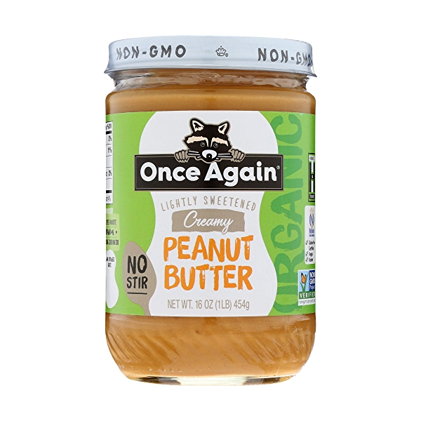Creamy No-stir Peanut Butter Lightly Sweetened 2