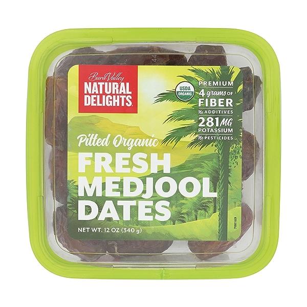 Organic Pitted Medjool Dates, 12 ounce 2