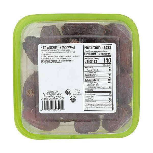 Organic Pitted Medjool Dates, 12 ounce 4