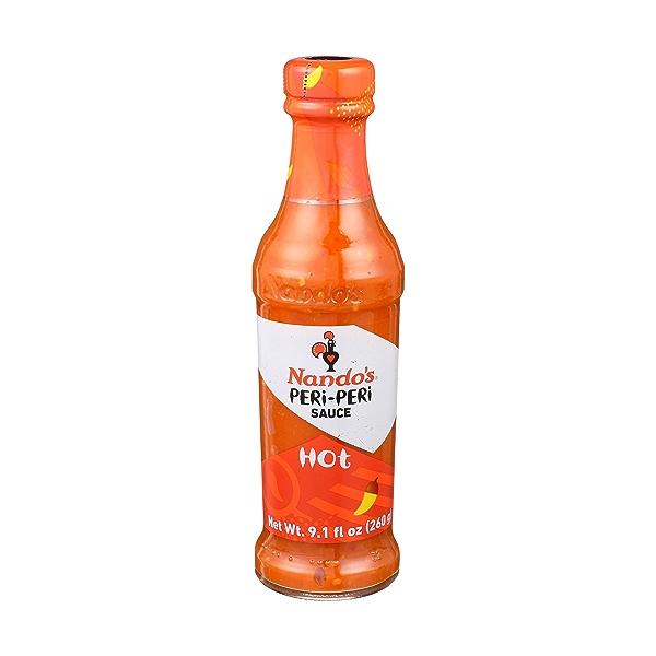 Hot Peri-peri Suace Hot, 9.1 fluid ounce 1