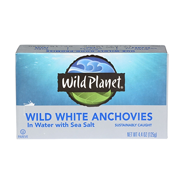 Wild Anchovies in Water 1