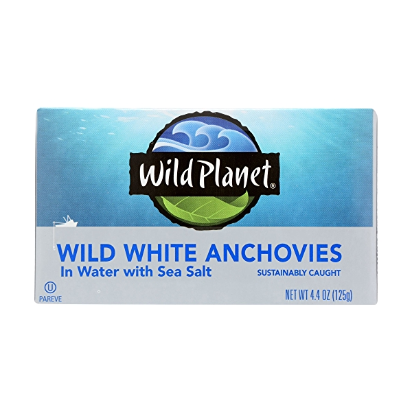 Wild Anchovies in Water 5