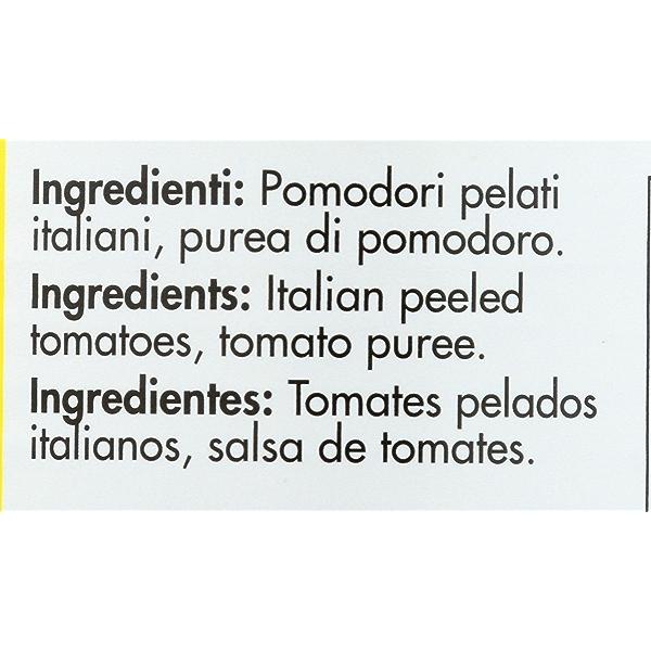 Italian Whole Peeled Tomatoes in Puree San Marzano, Sweet, Low Acid, 14.28 ounce 2