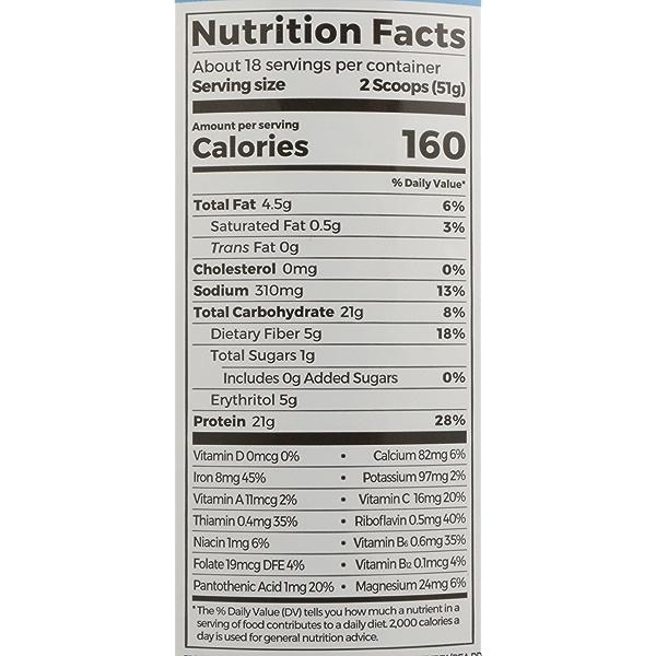 Vanilla Protein + Superfoods, 2.02 pound 4