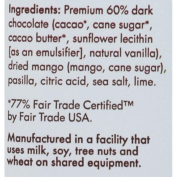 Bar Chocolate Totally Tangy Mango, 2.8 ounce 4