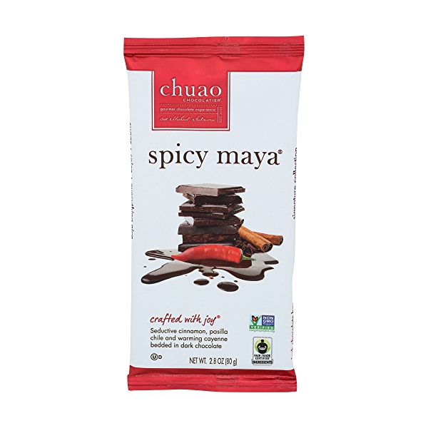 Bar Chocolate Spicy Maya, 2.8 ounce 1