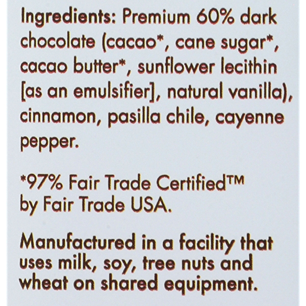 Bar Chocolate Spicy Maya, 2.8 ounce 4