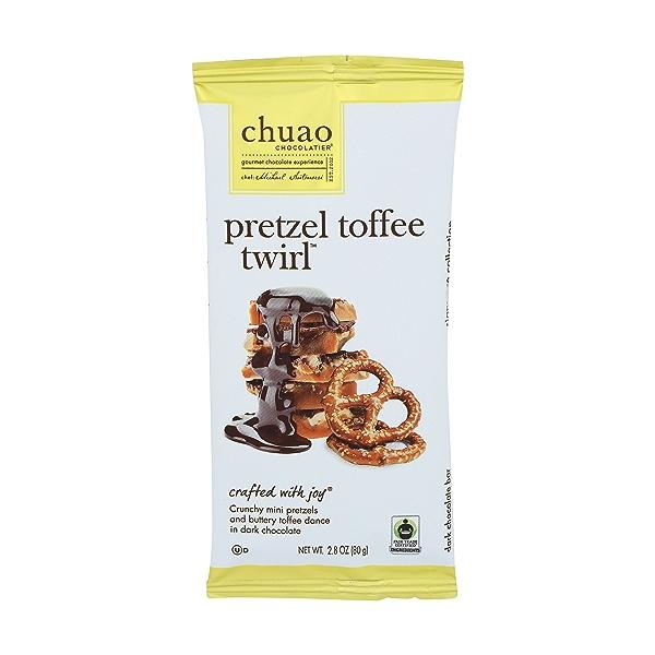 Bar Chocolate Pretzel Toffee Twirl, 2.8 ounce 1