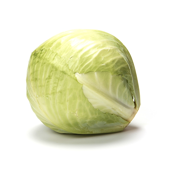 Organic Green Cabbage 1