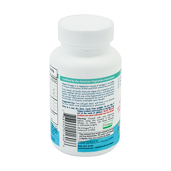 Algae Omega, 60 soft gels 2