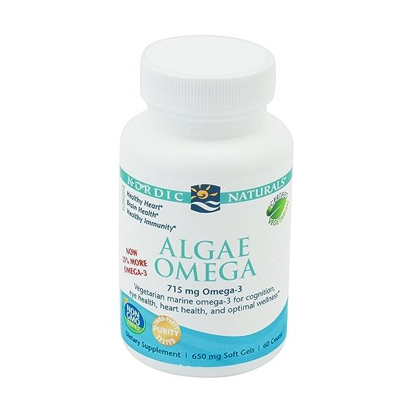 Algae Omega, 60 soft gels 1