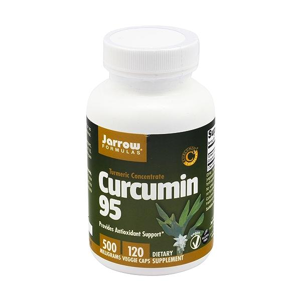 Curcumin Vegetarian Capsules, 500 mg, 120 caps 1