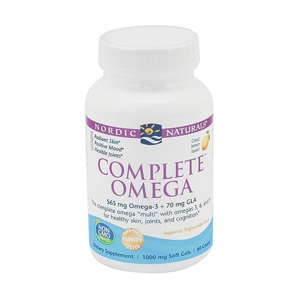 Lemon Complete Omega, 60 softgels 1