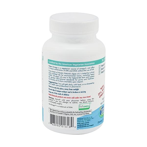 Algae Omega, 120 softgels 2