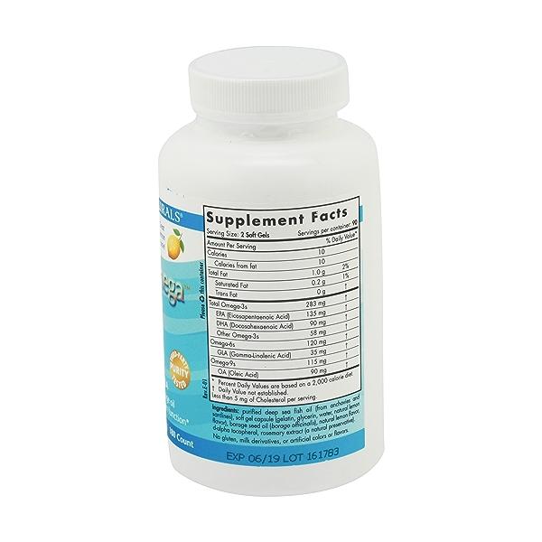 Omega 3-6-9 Junior 500 Mg, 180 softgels 3