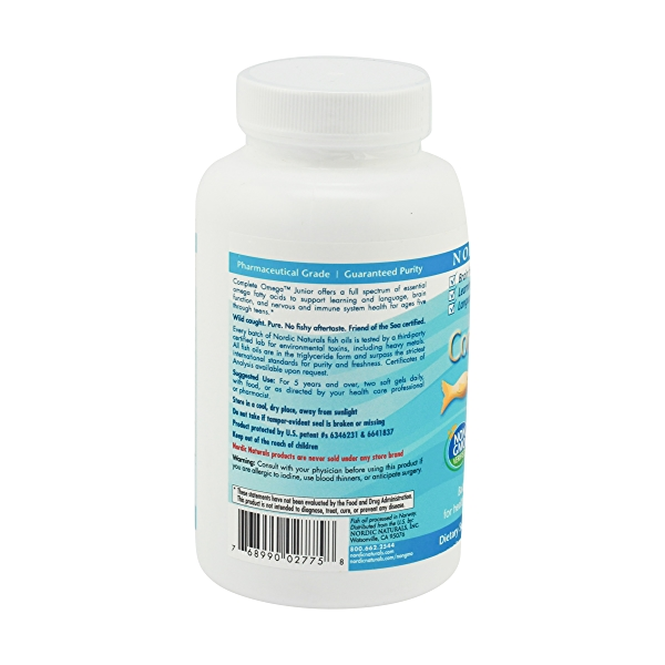 Omega 3-6-9 Junior 500 Mg, 180 softgels 2