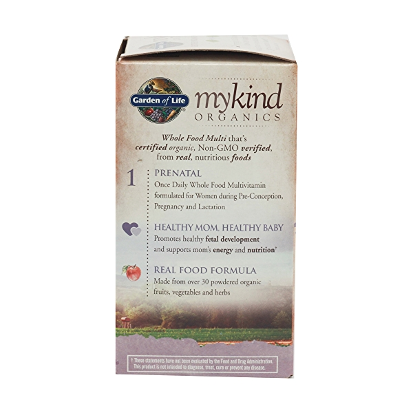 Organic Mykind Prenatal Once Daily, 36 tablets 5