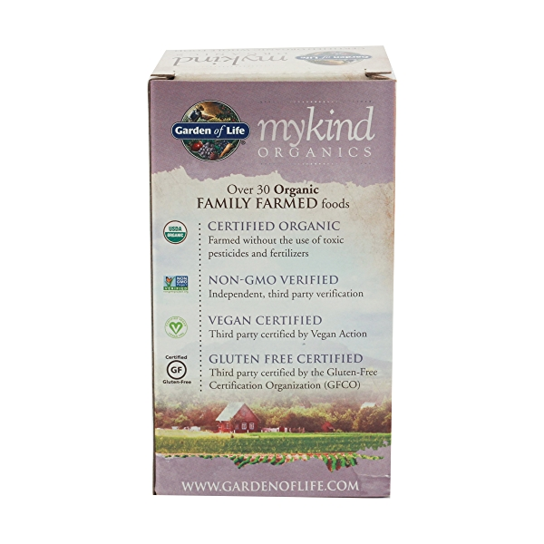 Organic Mykind Prenatal Once Daily, 36 tablets 4