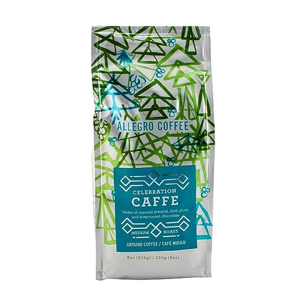 Celebration Caffe Medium Roast Ground Coffee, 8 oz 1