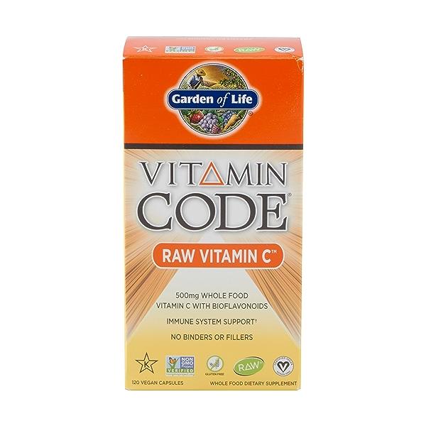 Raw Vitamin C, 120 capsules 1