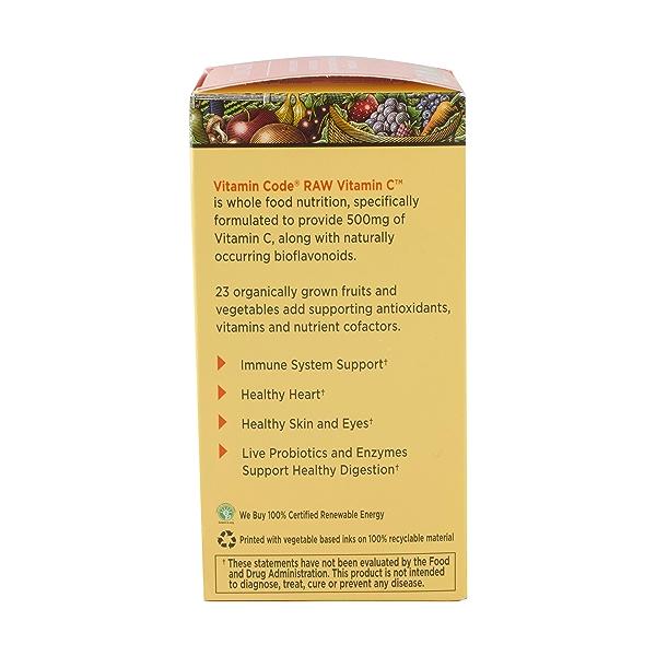 Raw Vitamin C, 120 capsules 3