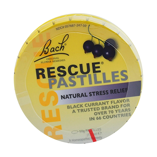 Black Currant Flavor Rescue Pastilles, 1 each 1