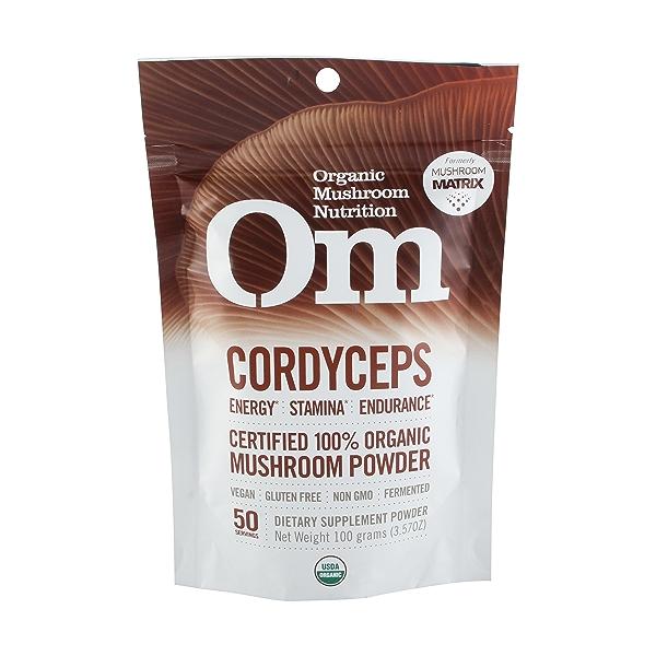 CordycepsOrganic Mushro Powder 1