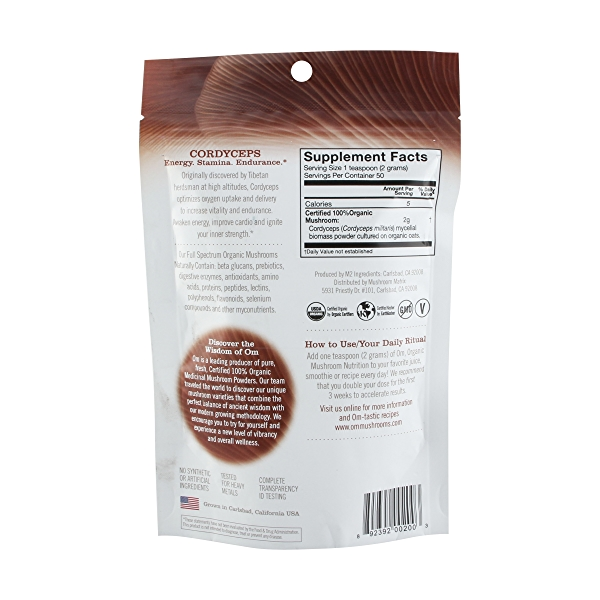 CordycepsOrganic Mushro Powder 2