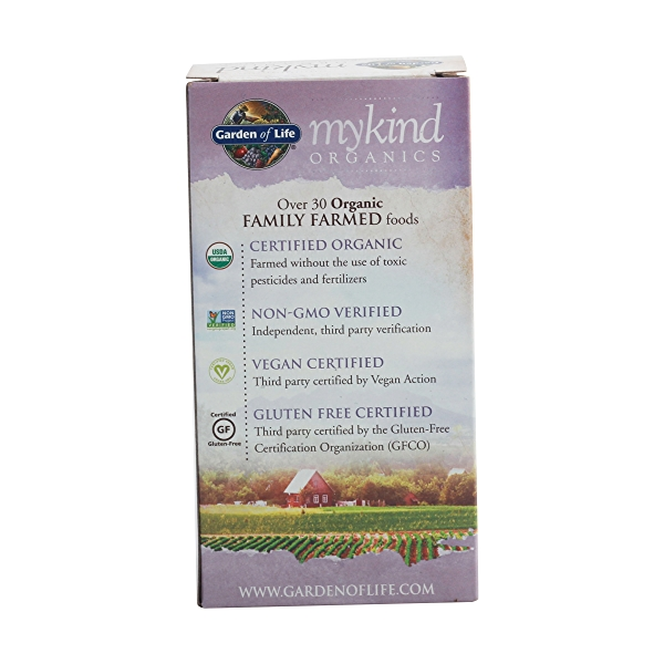 Organic Mykind Prenatal Once Daily, 108 tablets 4