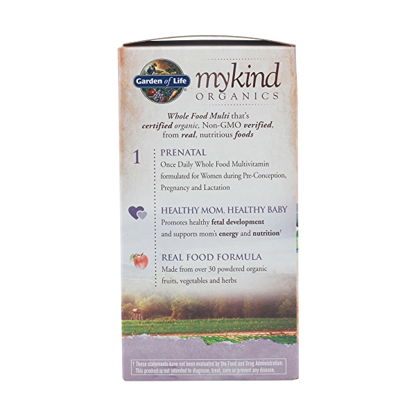 Organic Mykind Prenatal Once Daily, 108 tablets 5