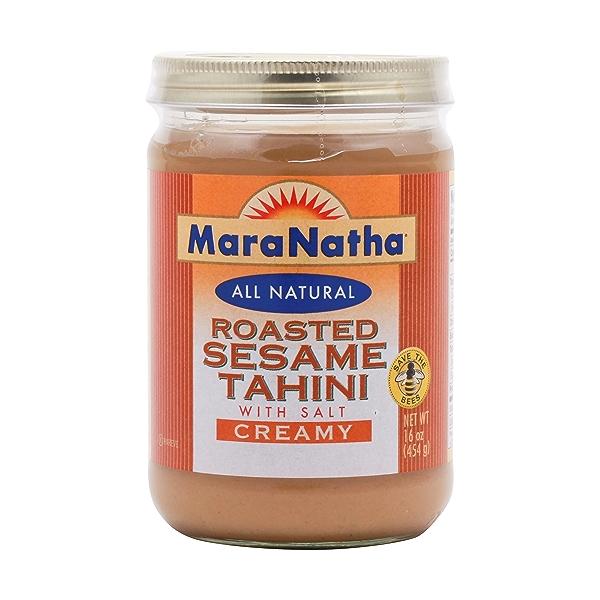 Creamy Roasted Sesame Tahini With Salt 1