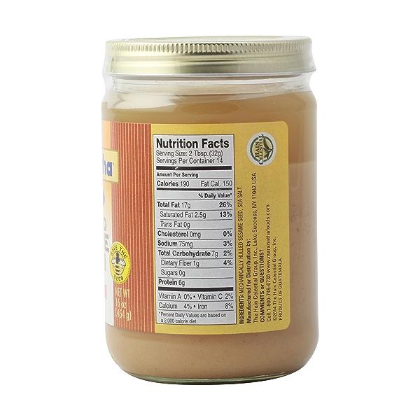 Creamy Roasted Sesame Tahini With Salt 3
