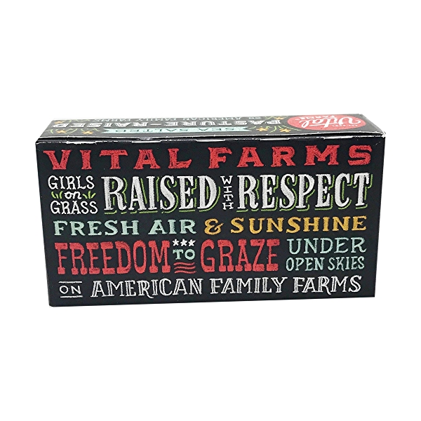 Sea-Salted Pasture-Raised Butter, 8 ounce 2
