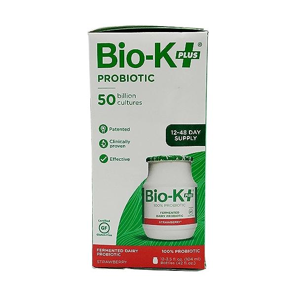 Strawberry Fermented Dairy Probiotic (12 pk), 42 fl oz 2