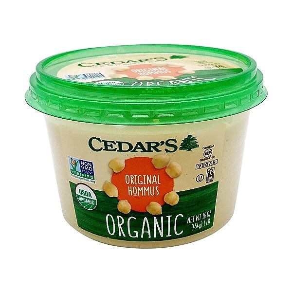 Organic Original Hommus, 16 ounce 1