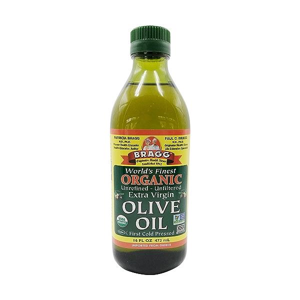 Organic Extra Virgin Olive Oil, 16 fluid ounce 1
