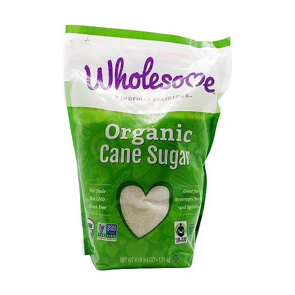 Organic Cane Sugar, 4 lb 1