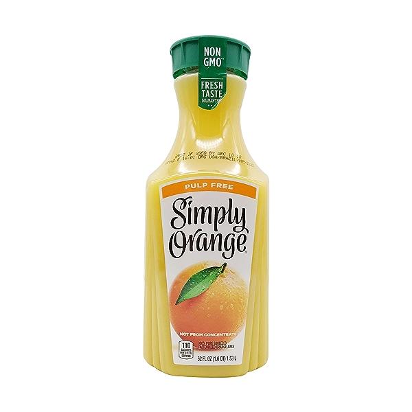 Pulp Free Orange Juice, 52 fl oz 1