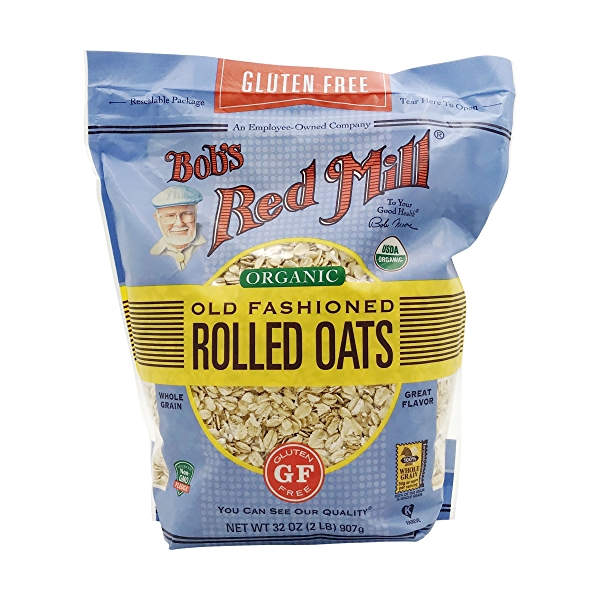 Organic Old Fashioned Rolled Oats, 32 oz 1
