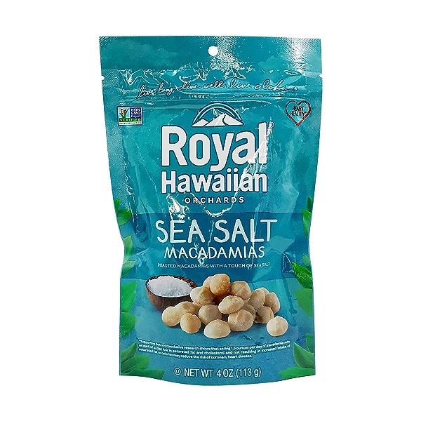 Sea Salt Macadamias, 4 oz 1
