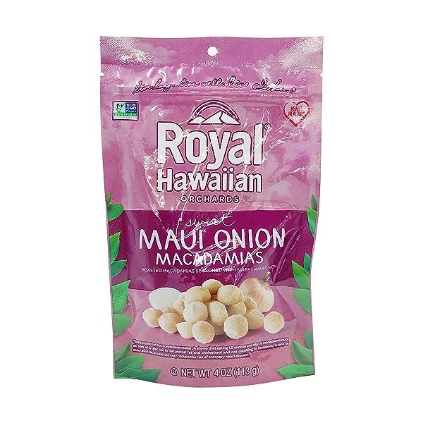 Sweet Maui Onion Macadamias, 4 ounce 1