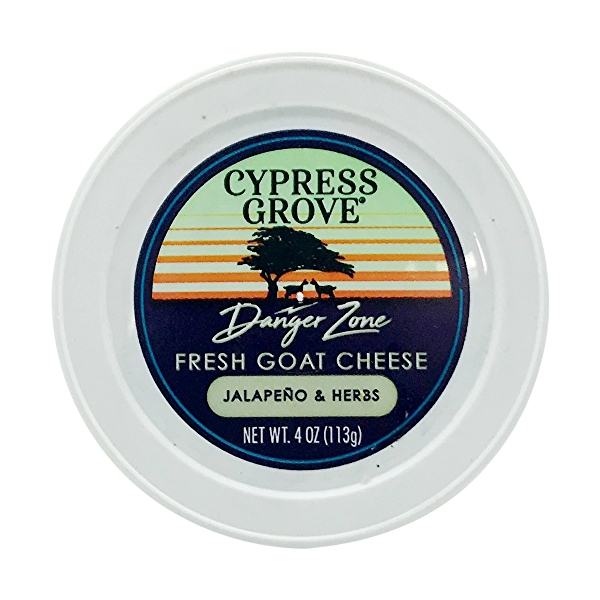 Jalapeno & Herbs Goat Cheese Spread, 4 ounce 5