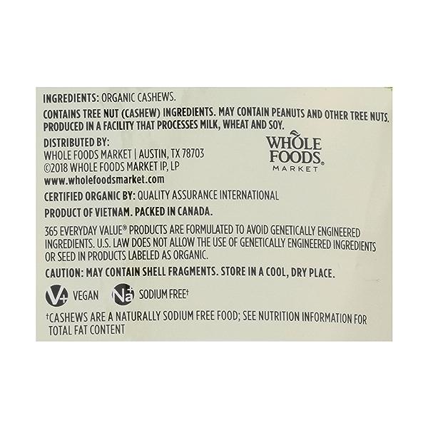Organic Cashews, 10 ounce 3