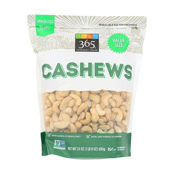 Cashews Raw, 24 oz 1