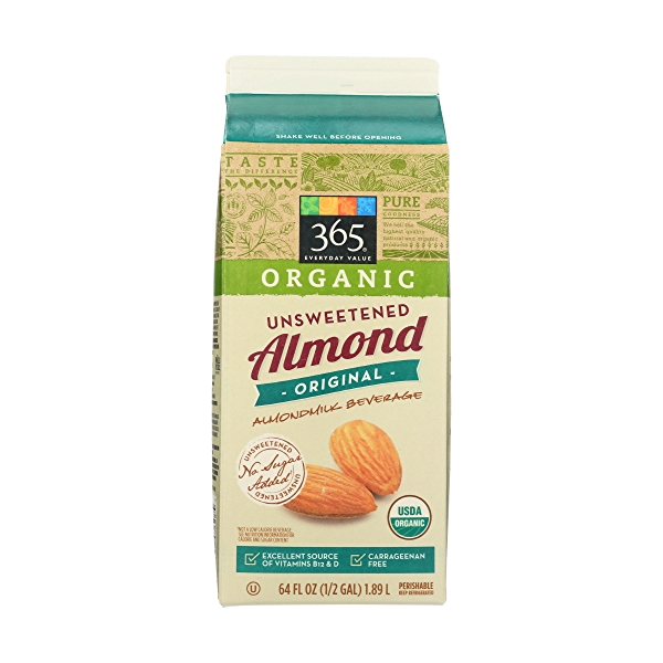 Unsweetened Almondmilk, 64 fluid ounce 2